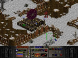 Warhammer 40,000: Chaos Gate Windows Enemy outpost in the snow