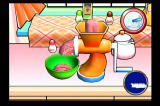 Cooking Mama: Cook Off Wii Spinning the Wiimote like a handle to... you get the idea.