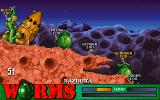 Worms DOS Martian worlds