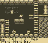 The Legend of Zelda: Link's Awakening Game Boy Underground Passageway