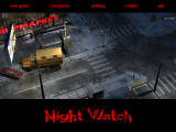 Night Watch Windows Main menu
