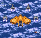 Soldier Blade TurboGrafx-16 Your mothership enters the first stage