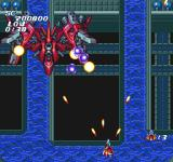 Soldier Blade TurboGrafx-16 Encontering a boss