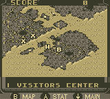 Urban Strike Game Boy Campaign 1 Map