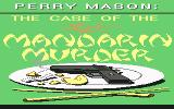 Perry Mason: The Case of the Mandarin Murder Commodore 64 Title screen
