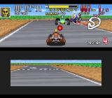 Saban's Power Rangers Zeo: Battle Racers SNES Located at an average distance, Cog Soldier fires a Blaster against his next target: Green Ranger...