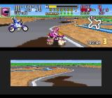 Saban's Power Rangers Zeo: Battle Racers SNES After a successful attack in King Mondo, Pink Ranger accidentally loses her balance in a oil slick