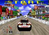 Sega Rally Championship SEGA Saturn About to begin my championship race.