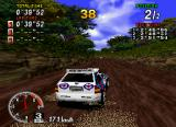Sega Rally Championship SEGA Saturn The graphics are quite nice in the Saturn version.