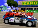 Sega Rally Championship SEGA Saturn Yey! I actually completed a race!
