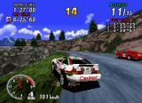 Sega Rally Championship SEGA Saturn In championship mode, however, the opponents are nearly flat-shaded.