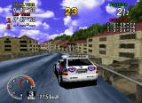 Sega Rally Championship SEGA Saturn Those houses are catastrophically not to scale... either that or you are racing in the Shire!