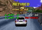 Sega Rally Championship SEGA Saturn Whoops... I lose.