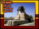 Ancient Egypt Windows That mysterious Sphinx!