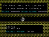 Doomsday Castle ZX Spectrum Level completed