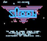Sqoon NES Animated title screen, complete with topless mermaid!