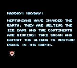Sqoon NES A distress call provides the game's back-story.