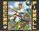 Soccer Pinball Amiga Title screen