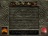Circle of Blood DOS DOS installing screen