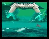 Carcharodon: White Sharks Amiga The high-score background screen.