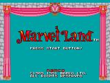 Marvel Land Genesis Title (NTSC version)