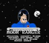Moon Ranger NES Title screen
