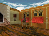 Tomb Raider II Windows Lara and the big red.....