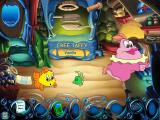 Freddi Fish 5: The Case of the Creature of Coral Cove Windows Trying to catch the taffy as it shoots out of the machine behind us...