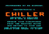 Chiller Amstrad CPC Title screen and credits