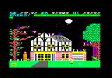Chiller Amstrad CPC The haunted house