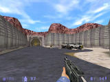 Half-Life: Blue Shift Windows Swift moving and double barrelled shotgun will have to suffice against five hostile marines.