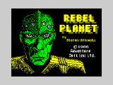 Rebel Planet ZX Spectrum Title screen