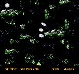 Halley Wars NES Entering a belt of space debris