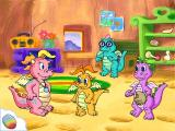Dragon Tales: Learn & Fly With Dragons Windows Cassie's house. Choose a dragon to go first...
