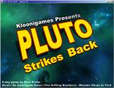 Pluto Strikes Back Windows Title screen
