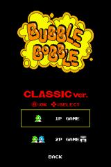 Bubble Bobble Revolution Nintendo DS The game's Classic mode can be played cooperatively with a friend.