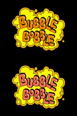 Bubble Bobble Revolution Nintendo DS Classic mode's title screen.