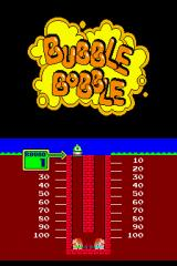 Bubble Bobble Revolution Nintendo DS Beginning the game.