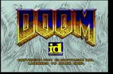 DOOM Jaguar Title screen