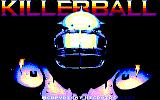 Killerball Amstrad CPC Title Screen