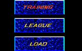 Killerball Amstrad CPC Main Menu