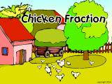Chicken Fraction Windows Title screen