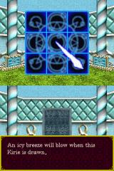 Deep Labyrinth Nintendo DS Learned my first magic spell. These get REALLY complex as you get further into the game.
