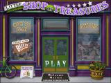 Little Shop of Treasures Windows Main menu
