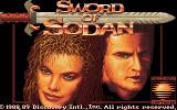 Sword of Sodan Amiga Title screen