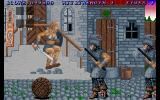 Sword of Sodan Amiga Jumping over barrels