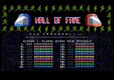 Datastorm Amiga Highscore table
