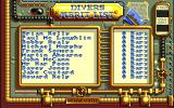 Treasure Trap Amiga High-score table