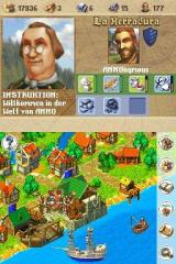 Anno 1701: Dawn of Discovery Nintendo DS Harbour