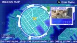 Ghost in the Shell: Stand Alone Complex PSP Mission location on the city map
